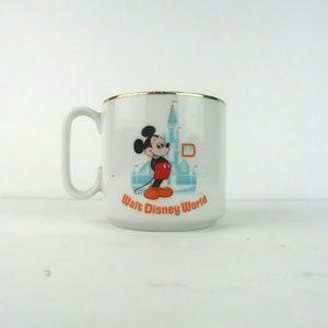 Vintage Walt Disney World Coffee Mug Castle